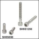 8-32 Stainless Steel Cap Screws