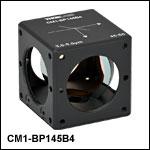 45:55 (R:T) Cube-Mounted Pellicle Beamsplitter, Coating: 3.0 - 5.0 µm