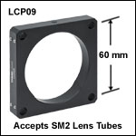 Cage Plate with Ø2.2in Double Bore