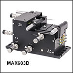 6-Axis NanoMax Stage with Differential Adjusters