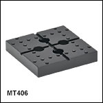 Adapter Plate for Flexure Stage Accessories