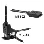 12 mm (0.47in) Motorized Translation Stages
