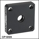 30 mm Cage Plates for Premounted Aspheric and Achromatic Lenses