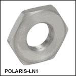 1/4in-100 Adjuster Lock Nut, Stainless Steel
