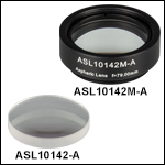 High-Precision, CNC Polished Aspheric Lenses, AR Coated: 350 - 700 nm