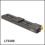 300 mm Linear Translation Stage with Integrated Controller, Stepper Motor