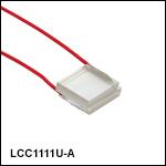 Ø10 mm Uncompensated Half-Wave Liquid Crystal Retarders, Unmounted