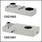 Double Camera Ports with Built-InOptics<br>