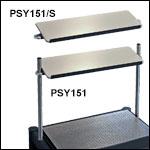 ScienceDesk Overhead Shelves with a 12° Tilt