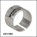 Ø1/2in Unthreaded Adapters with Smooth Internal Bore