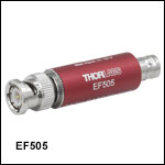 High-Pass Electrical Filters, Coaxial, 130 kHz to 10 MHz