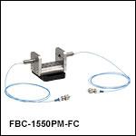 Fixed U-Benches with Polarization-Maintaining Fiber