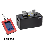 Fiber Recoater with Linear Proof Tester and Automatic Mold Assembly