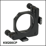 Ø2inKinematic Mirror Mountwith Post-Centered Front Plate