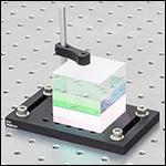 Beamsplitter Cube Mounted to BA4