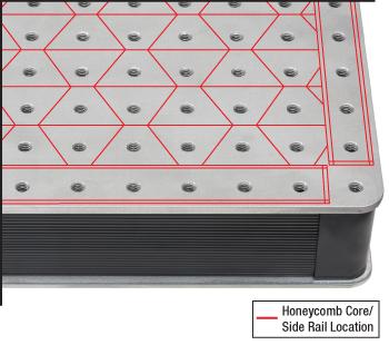 Tabletop Honeycomb Core