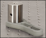 Clamping Fork with Pedestal Post