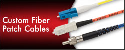 Custom Fiber Patch Cables