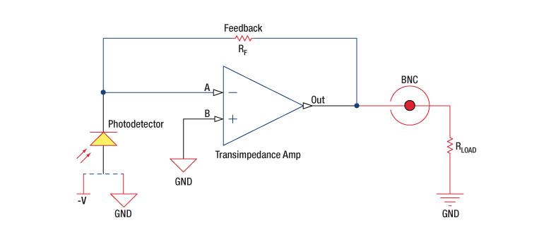 Reverse Biased DET Circuit