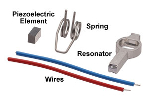 The Components of the Elliptec Motor