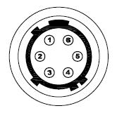 6 pin Hirose Connector