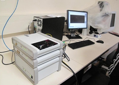 Thorlabs' OCT System in Use in Dr. Meglinski's Lab