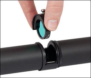 Lens Tube Filter Mount in Lens Tube System