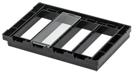 Microscopy Slide Holder Tray