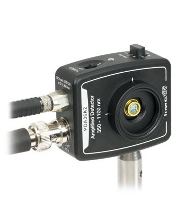 mounted amplified photodetector horizontal