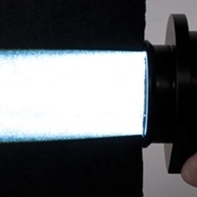 Microscope Collimator Connected to an HPLS