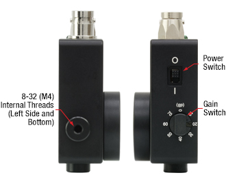 PDF10A Power Switch and Gain Switch