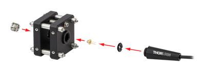 Laser Diode Mount LDH9-P2