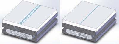 Extra Grooves in HFV001 Fiber Holder