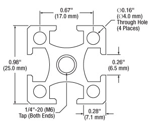 XE25L Engineering Drawing
