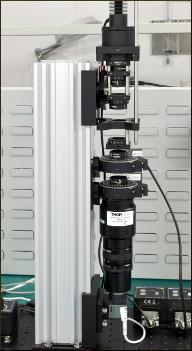 Liquid Crystal Cell Test Setup