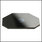 Mirror Coated with a xtal therm coating