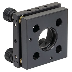 KC1-T/M - Kinematic, SM1-Threaded, 30 mm-Cage-Compatible Mount for Ø1in Optic, Metric