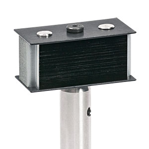 LB1 - Beam Block, 400 - 700 nm, 10 W Max Avg. Power, CW Only, Includes TR3 Post