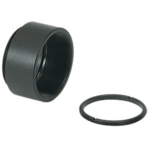 SM1L05 - SM1 Lens Tube, 0.50in Thread Depth, One Retaining Ring Included