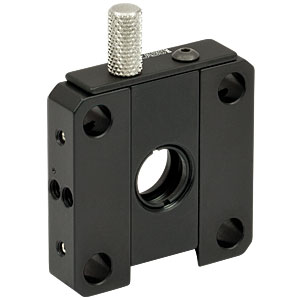 CFH1 - 30 mm Cage System Removable Filter Holder for Ø1/2in Optics, Plate and Holder Included