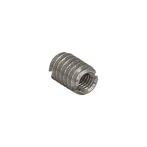 AE4M25E - Dual Threaded Adapter with Internal M4 x 0.7 Threads and External 1/4in-20 Threads