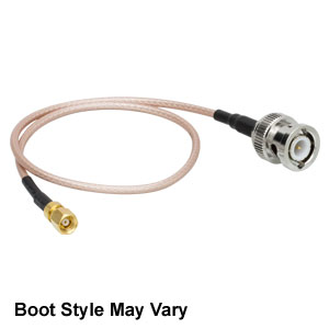 CA2612 - SMC Coaxial Cable, SMC Female to BNC Male, 12in (304 mm)