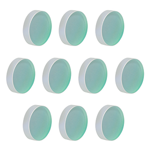 BB2-E03-10 - Ø2in Broadband Dielectric Mirror, 750 - 1100 nm, 10 Pack