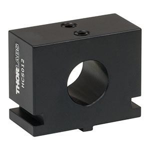 HCS012 - Ø12 mm Collimation Package Mount for Multi-Axis Flexure Stages
