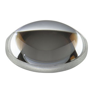 A240-A - f = 8.00 mm, NA = 0.5, Unmounted Rochester Aspheric Lens, AR: 350 - 700 nm