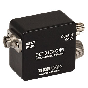 DET01CFC/M - 1.2 GHz InGaAs FC/PC-Coupled Photodetector, 800 - 1700 nm, M4 Tap