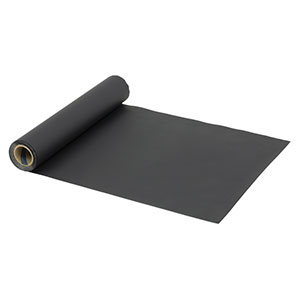 BKF12 - Matte Black Aluminum Foil, 1' x 50' (305 mm x 15.2 m) x .002in (50 µm) Thick