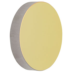 CM750-500-M01 - Ø75 mm Gold-Coated Concave Mirror, f = 500.0 mm