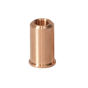 F19SSN2P - Threaded Bushing, Phosphor Bronze, 3/16in-100, 0.53in Long