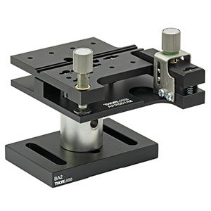 APR001/M - Pitch and Roll Tilt Platform with Thumbscrew Drives, Metric